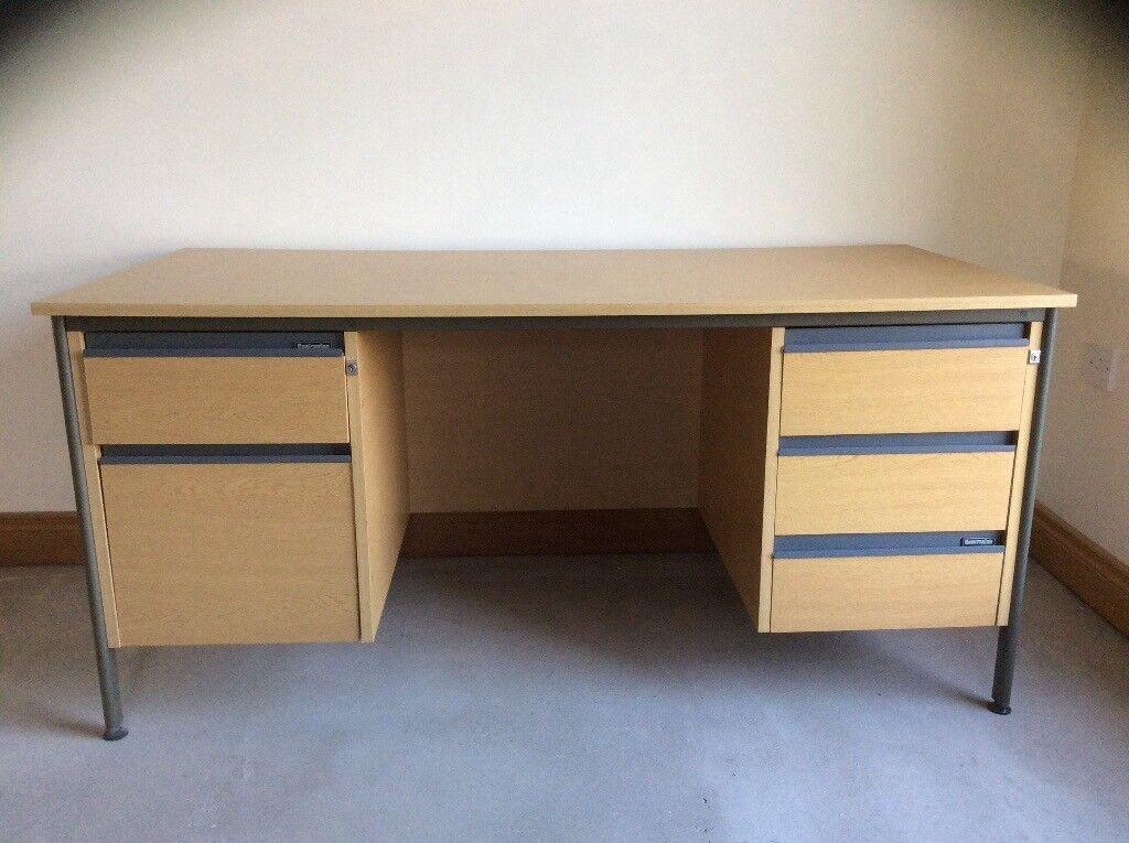 Sturdy Office Desk Intended Sturdy Office Desk In Newtownards County Down Gumtree