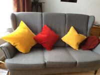 Ikea Strandmon 3 seater sofa. Sold awaiting collection