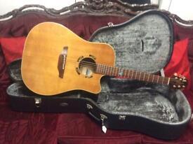 Takamine PSF 15C Santa Fe electro acoustic guitar