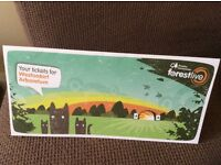 Olly Murs x 3 Tickets Westonburt Arboretum Fri 16th June 2017