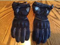 Triump tritex ladies motorcycle gloves -large