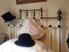 Antique brass and Iron bed and mattress