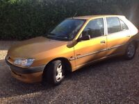 Peugeot 306 d turbo 5 door diesel car great runner