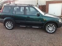 HONDA CRV VERY CLEAN TIDY 4X4 FOR WINTER £1,200!