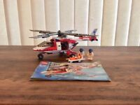 Lego City Rescue Helicopter set 7903