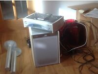 JVC CD sound system and subwoofer - £5 - donation will go to Leeway Women's Refuge