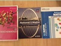 National five maths study books