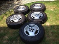 Discovery 2 / P38 Land Rover wheels and tyres