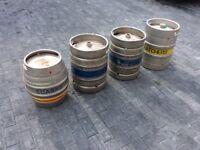 Beer kegs barrels