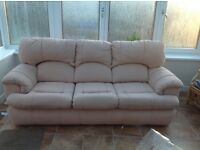 3 seater sofa available