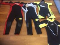Children's wetsuits Banana Bite great condition various sizes
