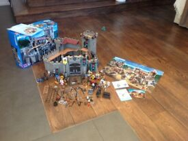 Playmobil Knights Castle with Box and All Accesories