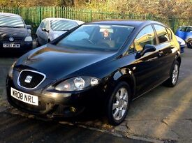 Excellent Seat Leon, Diesel, Manual, 1.9 TDI Stylance 5dr, Black, Alloys, Cruise Control etc.