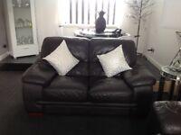 2x2 leather sofas