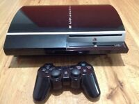 Sony PlayStation 3 with controller, cables and 3 Games, Perfect condition.