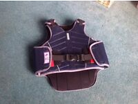 Harry Hall, horse riding body protector. Adult small, beta level 3