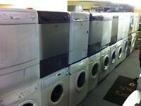 washing machines, dryers, dishwashers, cookers, fridge freezers with 6 mth warranty