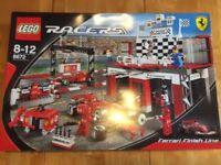 Lego Racers Ferrari Finish Line (set 8672)