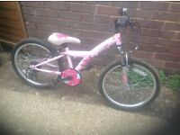 Girls Kinx Front Suspension mountain bike 6 sp (age 5-8