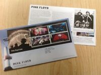 Pink Floyd First Day Cover, 2016