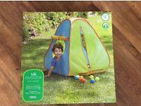 BNIB Children's Pop Up Tent