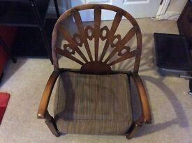 Antique Nursing Chair for sale