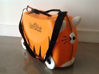 Children's tiger trunki - ride on and pull along suitcase