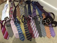 Ties and belts bundle job lot