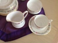 Paragon - fine bone china Belinda design. By appointment of our majesty The Queen. 56 Pieces. .