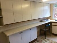11 beige Kitchen units FREE for anyone who is willing to collect them