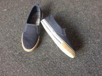 Mantaray Boys Slip On Shoes