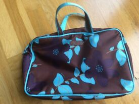 Morgan Toiletry Bag, brand New with detachable smaller bag inside