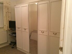 Bedroom wardrobe - very good condition from smoke free house