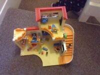 Playmobil pre school like new