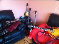 Guitar's Amp's and Pedal's Wanted for cash...Gibson Fender Epiphone etc.