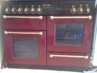 Rangemaster gas cooker 1100