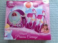 Disney princess carriage play tent - brand new