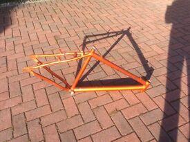 New aluminium 7500 bike frame