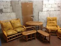 CANE FURNITURE SET