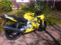 honda cbr600f4 2002 low miles yellow