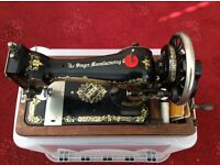 Antique Singer Sewing Machine Model 28k c1914 REDUCED !!!