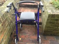 Rollator, hardly used