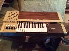 Vintage Bontempi Organ