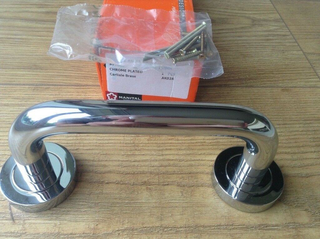 Brand New Polished Chrome Pull Handle