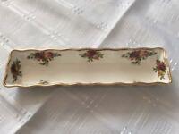 Royal Albert Bone China Mint Dish. Old Country Roses.