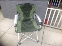 3 Folding Camping Chairs