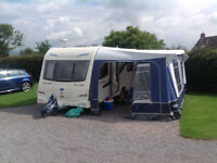 2011 BAILEY PEGASUS II VERONA - 4 BERTH FIXED BED TOURING CARAVAN