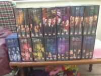 Buffy the Vampire Slayer video box sets series 1 to 7