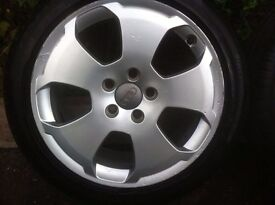 """Audi A3 Sport Alloys 17"""" with Winter Tyres"""