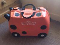 Trunks Ladybird Ride on Kids Suitcase